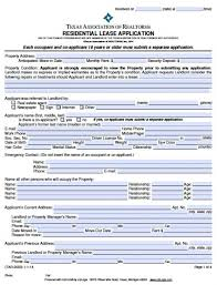 rent application form doc free texas rental application pdf word doc