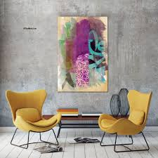 abstract canvas painting 4