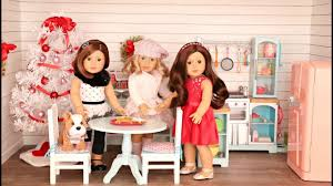 Baby Doll Kitchen In Doll House American Girl Doll Gourmet Kitchen