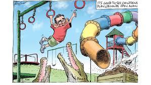 Dan andrews ретвитнул(а) triple j. Mark Knight Cartoon On Premier Dan Andrews Playing At A Reopened Playground Kidsnews