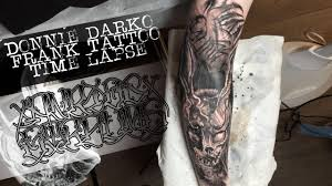 FRANK THE RABBIT / LETTERING TATTOO TIME LAPSE / DONNIE DARKO / SPEKTRA  DIREKT 2 ROTARY - YouTube