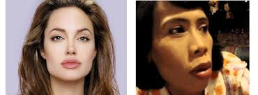 Image result for 2. Angelina Jolie Dan Omas Wati