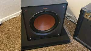 Klipsch Reference series R-100SW - YouTube
