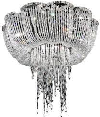 enna large dd crystal ceiling light lamp