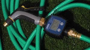 flow meter from northern tool equipment ordinary garden hose