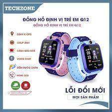 Tặng Sim 3G ] Đồng Hồ Thông Minh Định Vị Trẻ Em Q12 | Có Khe Cắm Sim -  Chống Nước - Nghe Gọi Tốt tại Hà Nội
