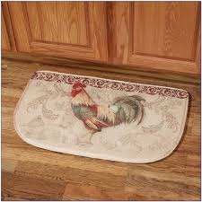 red rooster kitchen rugs
