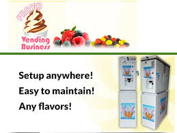 Vending Machine Business Opportunities Interesting FroYo Vending Business Opportunity