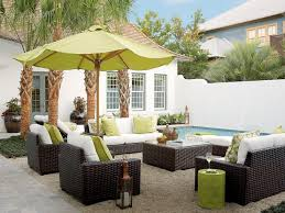 dark brown wicker outdoor coffee table