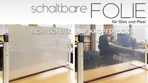 Schaltbare Folie Für Sichtschutz Auf Glas Per Knopfdruck Ifoha