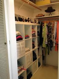 fascinating small room closet storage ideas for a