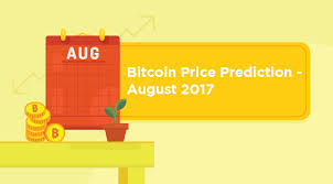 Bitcoin Price Prediction 2017 Chart Bitcoin Price Prediction August 2017