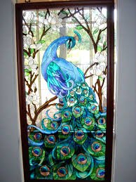 exemplary stained glass door privacy stained glass decorative window door gabpad