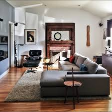 Bachelor Pad Furniture Grey Sectional Sofa