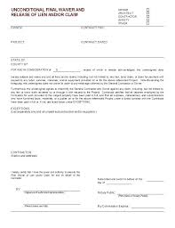 Free Subcontractor Lien Waiver Form Fresh Partial Lien Waiver Form Inspiration Free Template Florida