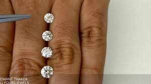 Round Shape Diamond Size Comparison With Mm Size 0 50ct To 0 90cts