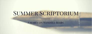 between the linens summer scriptorium essays of wendell berry summer scriptorium essays of wendell berry