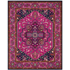safavieh bellagio pink navy 8 ft x 10 ft area rug