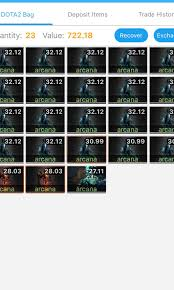 DOTA 2 Arcana and ANY ITEMS for sale ...