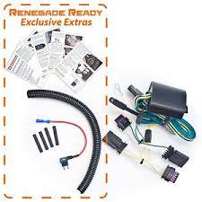 renegade enhanced trailer wiring kit jeep renegade enhanced trailer wiring kit