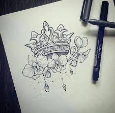 Pin by Ashley Strey on tattoos   Tattoos, Tattoo designs, Crown tattoo