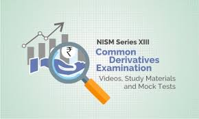 Nism Series Xiii Common Derivatives Examination