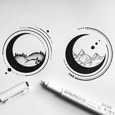Think for yourself next time, stop ripping off peoples ideas and claiming. Ive Only Made An Imgur Account For Reddit So Nvm Geometric Tattoo Moon Tattoo Drawings