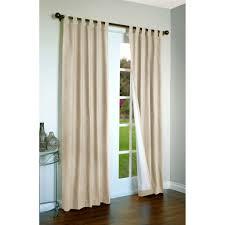 simple sliding patio door curtains