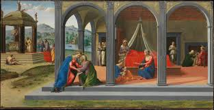 enlarge image scenes from the life of saint john the baptist