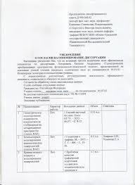 Информация о защитах Отзыв оппонента Короткого В А