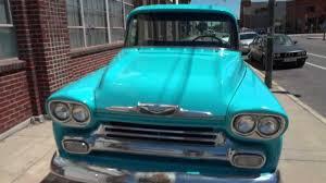 Gorgeous RARE 1958 Chevrolet Big Window Shortbed Fleetside ...