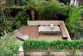 Small Picture Attractive Patio And Garden Design Ideas Small Patio Garden Design