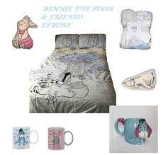 disney winnie the pooh eeyore double single duvet cover bed set bedding primark 1 sur 11 voir plus