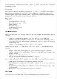 Mental Health Professional Resume Sample Best Of Home Health Nurse Duties Resume Dadajius