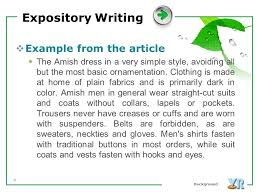 expository writing ppt video online 3 expository writing example