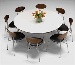 round extending kitchen table awesome charming interior model according to modern round dining table seats