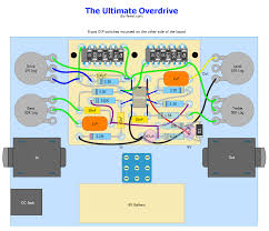effects > the ultimate overdrive diy fever building my own ultimate overdrive layout