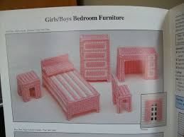 free dollhouse furniture patterns. Plastic Canvas Building Block Dollhouses By Margie Wicker Free Dollhouse Furniture Patterns