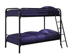 Amazon DHP Twin Over Twin Bunk Bed with Metal Frame and
