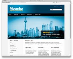 Free Templates Free Download Meembo Blue Free Template For Joomla 3 0 White Blue Yellow