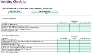 Wedding Planning Checklist Spreadsheet Wedding Checklist Spreadsheet