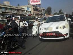 new car launches team bhpScoop Toyota Vios caught testing in Bangalore  TeamBHP
