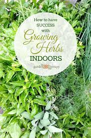 how to grow a herb garden. Learn How To Be Successful When Growing Herbs Indoors Grow A Herb Garden L