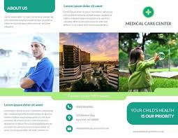 Healthcare Medical Brochure Template A Brochures Funeral Pamphlet ...