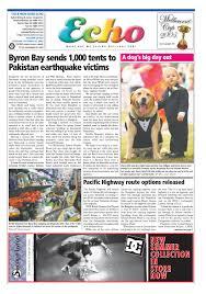 Byron Shire Echo Issue 20.23 25 10 2005 by Echo Publications.