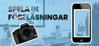 Spela in föreläsningar med mobil eller videokamera - Teilo