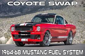 5 0 coyote engine swap kits and components pbh performance coyote swap fuel system for 1964 68 mustang