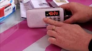 Mini <b>radio AM FM</b>, carte <b>SD</b>, <b>USB</b>, LED. - YouTube
