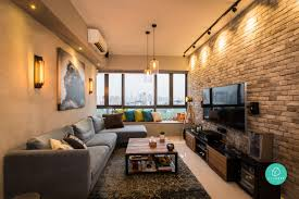Again, when your apartment is small, think of huge windows that make it  look airy and spacious. Art pieces on the wall create a nice impression  that catches ...