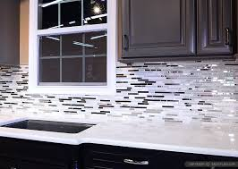 phenomenal black and white kitchen backsplash ideas metal stone glass tile